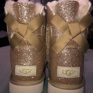 Brand new gold Ugg boots